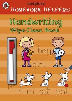 Ladybird Homework Helpers: Handwriting Wipe-Clean Book