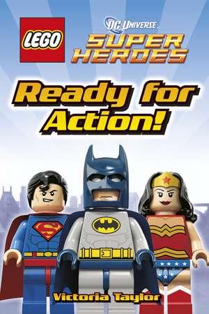 LEGO® DC Super Heroes Ready for Action! de DK