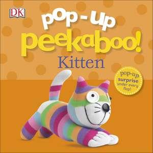 Pop-Up Peekaboo! Kitten de DK