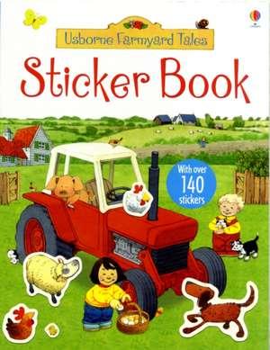 Poppy and Sam's Sticker Book imagine