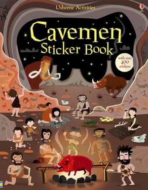 Caveman Sticker Book