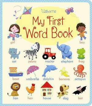 My First Word book de Felicity Brooks