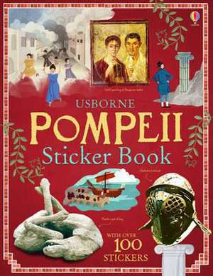 Pompeii Sticker Book imagine