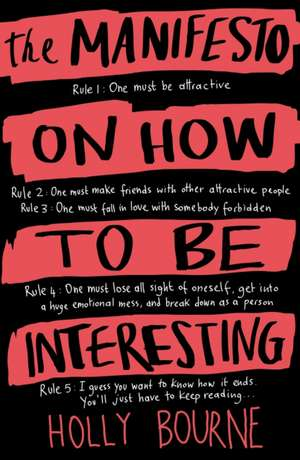 The Manifesto on How to be Interesting imagine