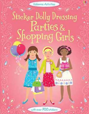 Sticker Dolly Dressing Parties and Shopping Girls imagine