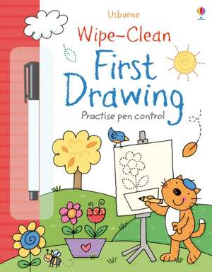 Wipe-Clean First Drawing de JESSICA GREENWELL