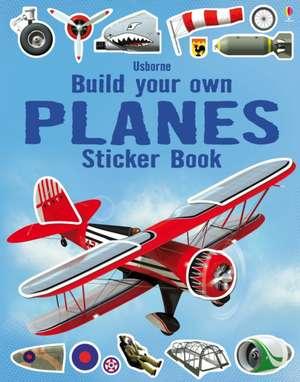 Build your own Planes Sticker Book de Simon Tudhope