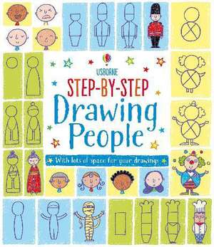Step-by-Step Drawing Book imagine