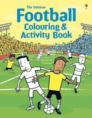 Football Colouring and Activity Book imagine