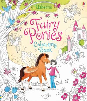 Fairy Ponies Colouring Book
