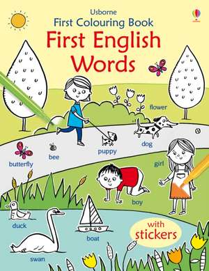 First Colouring Book First English