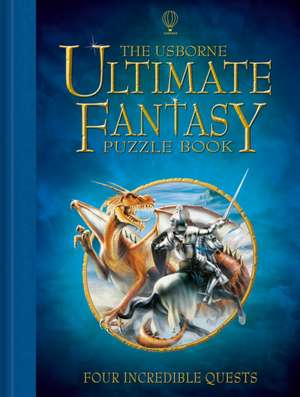 Usborne Ultimate Fantasy Puzzle Book