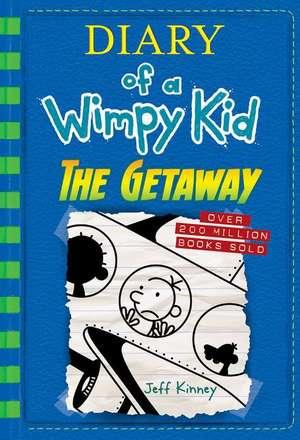 The Getaway (Diary of a Wimpy Kid Book 12) de Jeff Kinney
