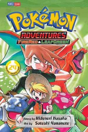 Pokémon Adventures (FireRed and LeafGreen), Vol. 24 de Hidenori Kusaka