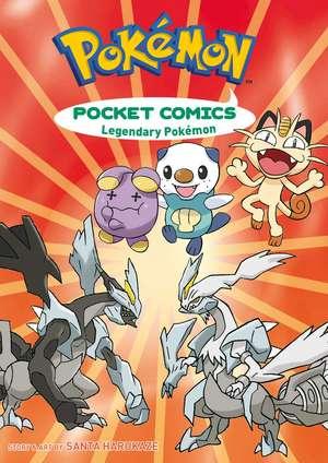 Pokémon Pocket Comics: Legendary Pokémon de Santa Harukaze