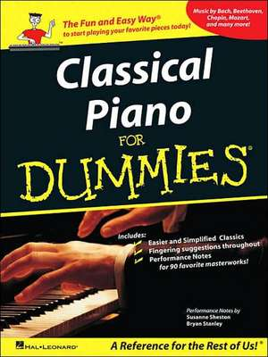 Classical Piano Music for Dummies de  Hal Leonard Corp