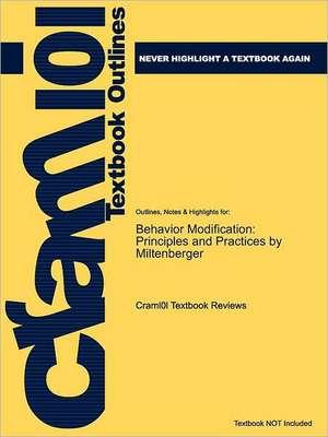 Studyguide for Behavior Modification de 3rd Edition Miltenberger