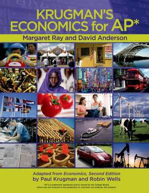 Krugman's Economics for AP [With Hardcover Book(s)] de Margaret Ray