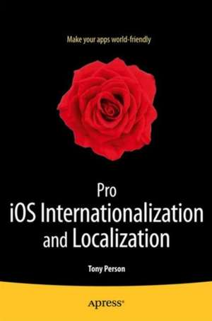 Pro iOS Internationalization and Localization