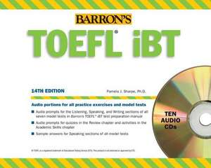 Barron's TOEFL Ibt Audio Compact Disc Package, 14th Edition