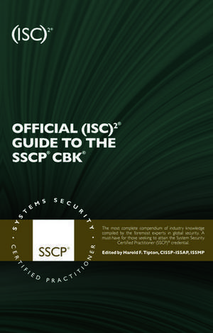 Official (ISC)2 Guide to the SSCP CBK imagine