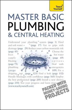 Master Basic Plumbing and Central Heating: Teach Yourself de R. D. Treloar
