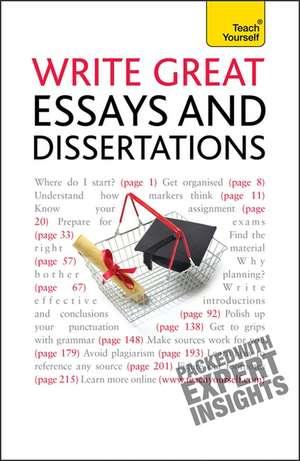 Write Winning Essays and Dissertations: Teach Yourself de Hazel Hutchison