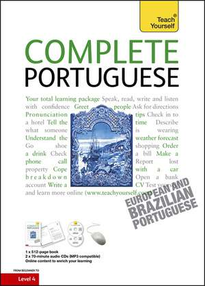 Complete Portuguese Book/CD Pack: Teach Yourself de Manuela Cook