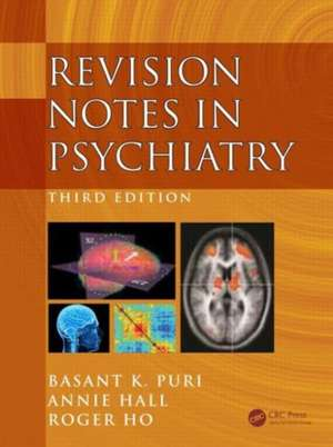 Revision Notes in Psychiatry