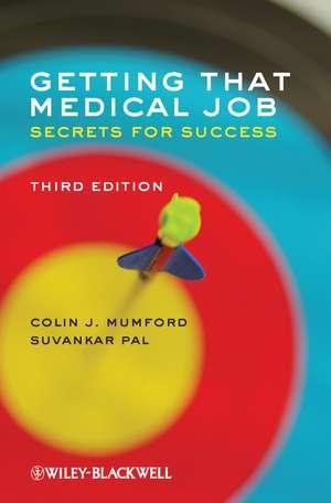 Getting that Medical Job