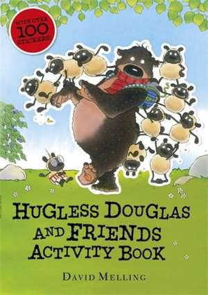 Hugless Douglas and Friends activity book imagine