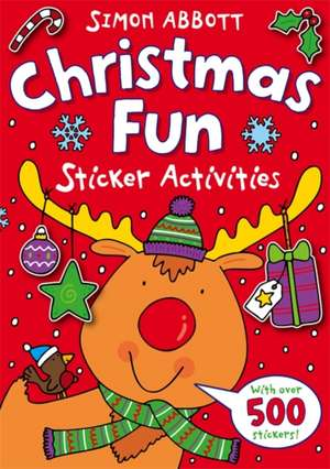 Christmas Fun Sticker Activities
