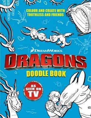 Dragons: Doodle Book de Dreamworks