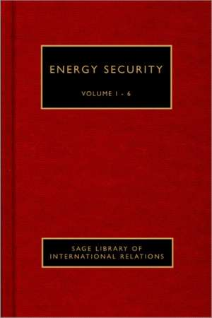Energy Security de Benjamin K. Sovacool