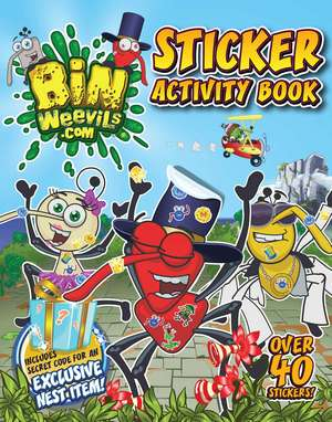 Bin Weevils Sticker Activity Book