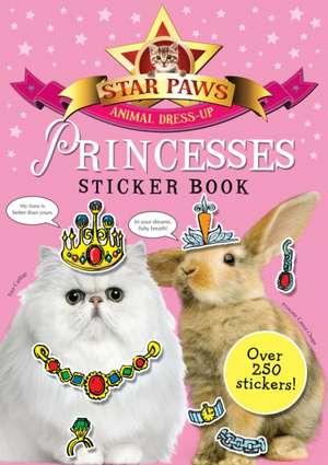 Princesses Sticker Book: Star Paws