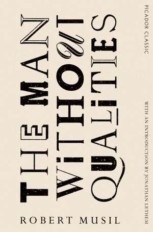 The Man Without Qualities de Robert Musil