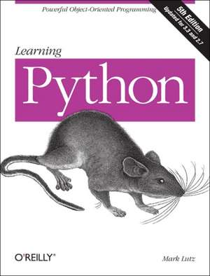 Learning Python 5ed de Mark Lutz