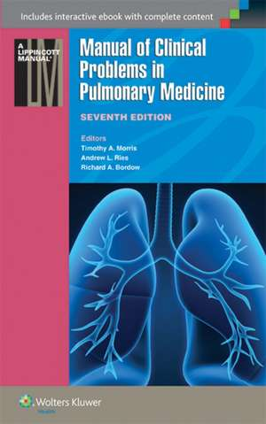 Manual of Clinical Problems in Pulmonary Medicine imagine