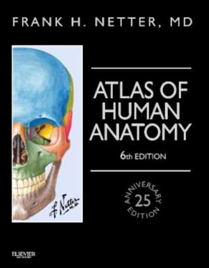Atlas of Human Anatomy, Professional Edition: including NetterReference.com Access with Full Downloadable Image Bank de Frank H. Netter