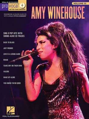Amy Winehouse: Pro Vocal Women's Edition Volume 55 de Amy Winehouse