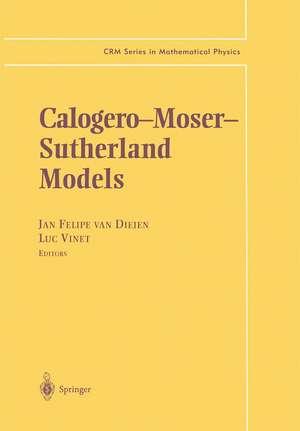 Calogero—Moser— Sutherland Models de Jan F. van Diejen