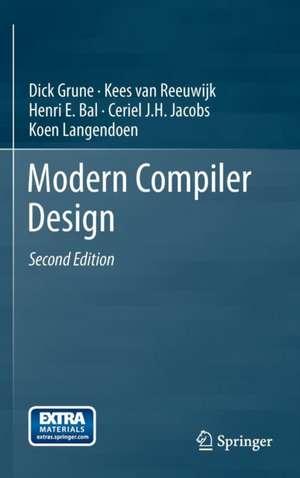 Modern Compiler Design de Dick Grune