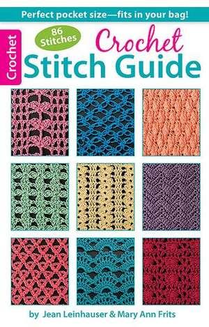 Crochet Stitch Guide de Rita Weiss