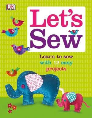 Let's Sew de DK Publishing