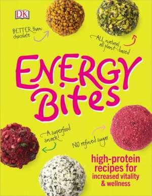 Energy Bites de DK Publishing