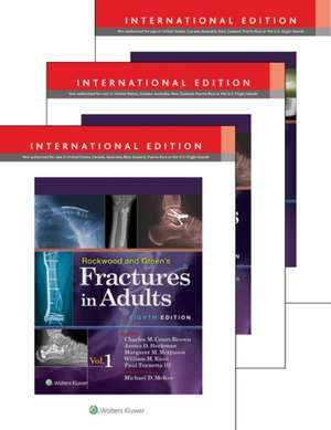 Rockwood, Green, and Wilkins' Fractures in Adults and Children International Package de Paul Tornetta, III MD