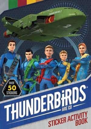 Thunderbirds Are Go Sticker Activity