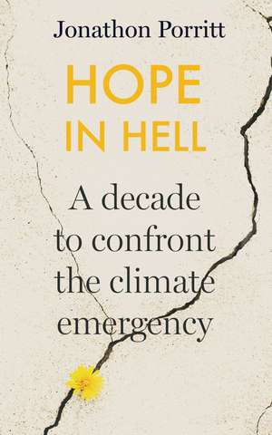 Hope in Hell: A decade to confront the climate emergency de Jonathon Porritt