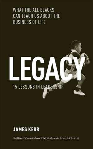 Legacy de James Kerr
